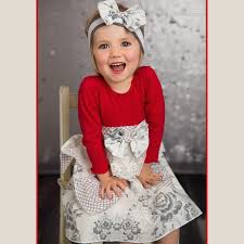 she bloom grey dress for toddlers