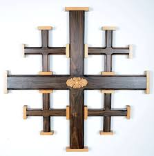 crosses for wall large jerusalem wall crosses holy land treasures usa large