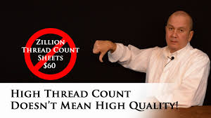 Good Thread Count High Thread Count Doesn U0027t Mean High Quality Bed Sheets Youtube