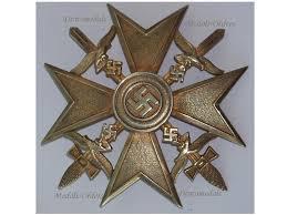 germany ww2 cross gold swords spain civil war