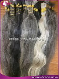 grey hair extensions silver grey human hair asian grey hair extensions view