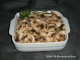 cuisiner chignons frais salade de chignons frais chez vanda