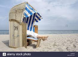 Beach Basket Rest In The Beach Basket On The Baltic Sea Erholung Im Strandkorb