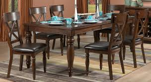 Kitchen Furniture Toronto Kingstown 7 Piece Dining Room Set Chocolate Leon U0027s