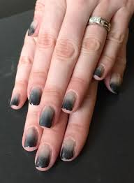 nails this week smokey ombre nails for nickels