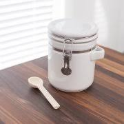 white ceramic kitchen canisters anchor hocking ceramic 4 kitchen canister set white