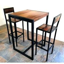 table de cuisine haute pas cher table et tabouret de bar trendy tabouret de bar with table et