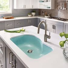 green kitchen sinks houzer porcelain enameled steel kitchen sinks