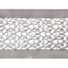 patterned ribbon patterned wire sterling silver floral ribbon 22 6