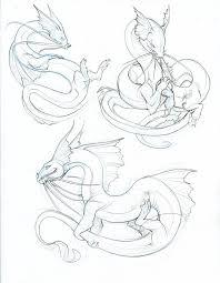 catfish dragon sketches by hibbary on deviantart