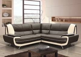Leather Corner Sofa Beds by Karol Leather Corner Sofa Black Red Brown Cream Or Black White