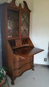 Chippendale Secretary Desk by Solid Mahogany Governor Winthrop Secretary Desk Hostgarcia