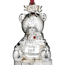 waterford baby s ornament teddy 2017