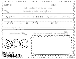 sight word practice sight words sight word practice and words