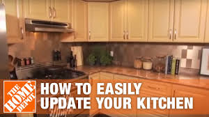 how to modernize a small kitchen 15 easy kitchen updates the home depot