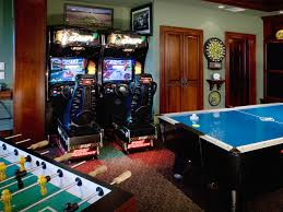 fun game room decorating ideas applying game room decorating