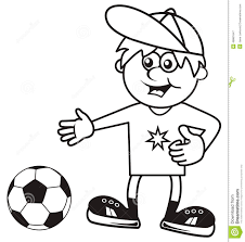 sportsman coloring book stock vector image 46861647