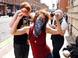 manchester mini raid 16th july party hard why we protest