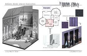 100 addams family mansion floor plan house plans 2 master