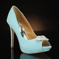 Wedding Shoes Blue My Glass Slipper Blue Wedding Shoes Featured On Cbs News It U0027s