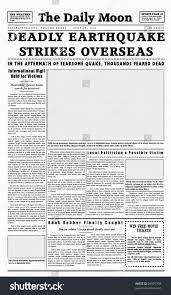 100 classic newspaper template the experiments i did with