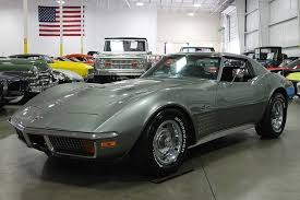 1972 corvette stingray 454 for sale steel cities gray 1972 chevrolet corvette for sale mcg marketplace