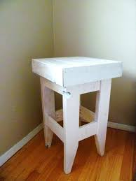 diy pallet night stand in white color 101 pallets