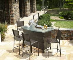 patio u0026 pergola amazing patio bar set 57 with additional home
