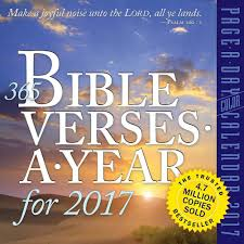 amazon com 365 bible verses a year 2017 color page a day