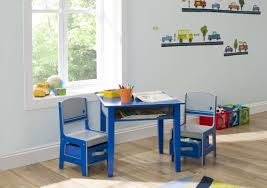 White Folding Kids Table And Chairs Set Delta Children Jack And Jill Kids 3 Piece Table And Chair Set