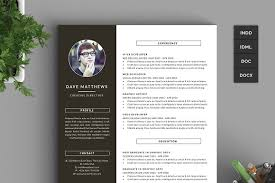 hipster resume cv with cover letter resume templates creative