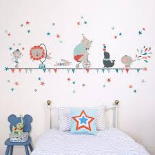 moon stars kids wall sticker koko kids circus wall sticker