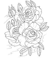 tattoo coloring pages roses to color image gallery tattoo