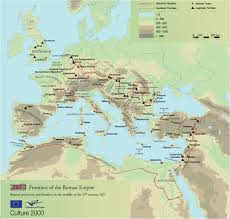 Map Of The Roman Empire Roman Frontiers And World Heritage