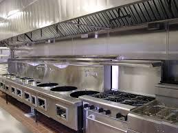 Commercial Kitchen Backsplash Interior Modern Exhaust Eith High Technology Design On
