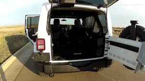 jeep arctic interior 2012 jeep wrangler unlimited arctic edition interior pt 2 youtube