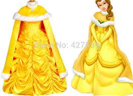 Halloween Costumes Belle Beauty Beast Aliexpress Buy Beauty Beast Belle Dress Cosplay