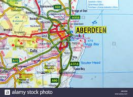 Dundee Scotland Map Scotland Road Map Stock Photos U0026 Scotland Road Map Stock Images