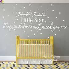 baby quote promotion shop for promotional baby quote on aliexpress com 150cmx79cm twink twinkle little star how loved you are quote wall sticker baby nursery kids room cartoon wall decal vinyl decor