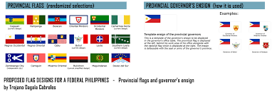 History Of The Filipino Flag Proposed Flag Designs For A Federal Philippines By Trajanocabrales