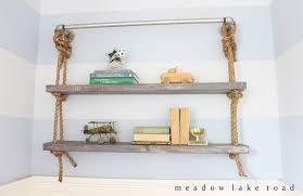How To Make A Pipe Bookshelf Diy Pipe And Shelves Meadow Lake Road