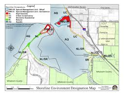 Map Program Draft Shoreline Master Program Update Blaine Wa Official Website