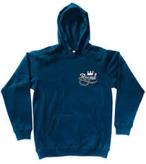 Rip Navy - royal trucks skateboards mens rip navy blue pullover hoody jumper