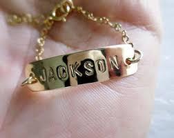 baby name bracelet baby name bracelet etsy