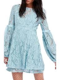 free people deco lace mini dress shopstasy
