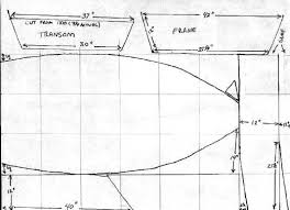 Free Wooden Boat Plans Skiff by One Sheet John Boat