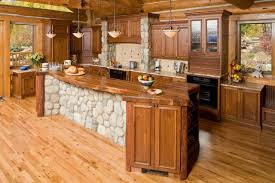 kitchen rock island rocky mountain sanctuary colorado rustic kitchen denver