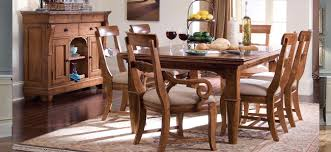 Hickory Dining Room Table by Tuscano Dining Room Collection By Kincaid Shop Hickory Park