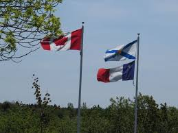 Picture Of Nova Scotia Flag Pomquet Out And About Nova Scotia