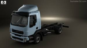 volvo truck store 360 view of volvo fl chassis truck 2006 3d model hum3d store